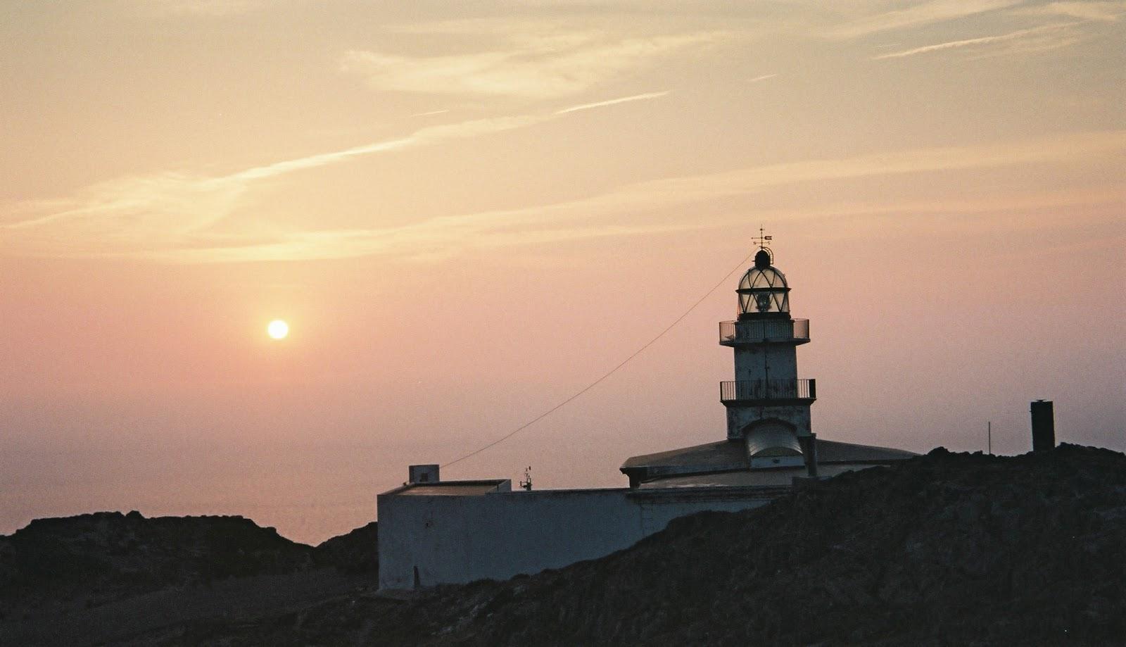 El faro de cap de Creus a pocos kms de Cadaqués