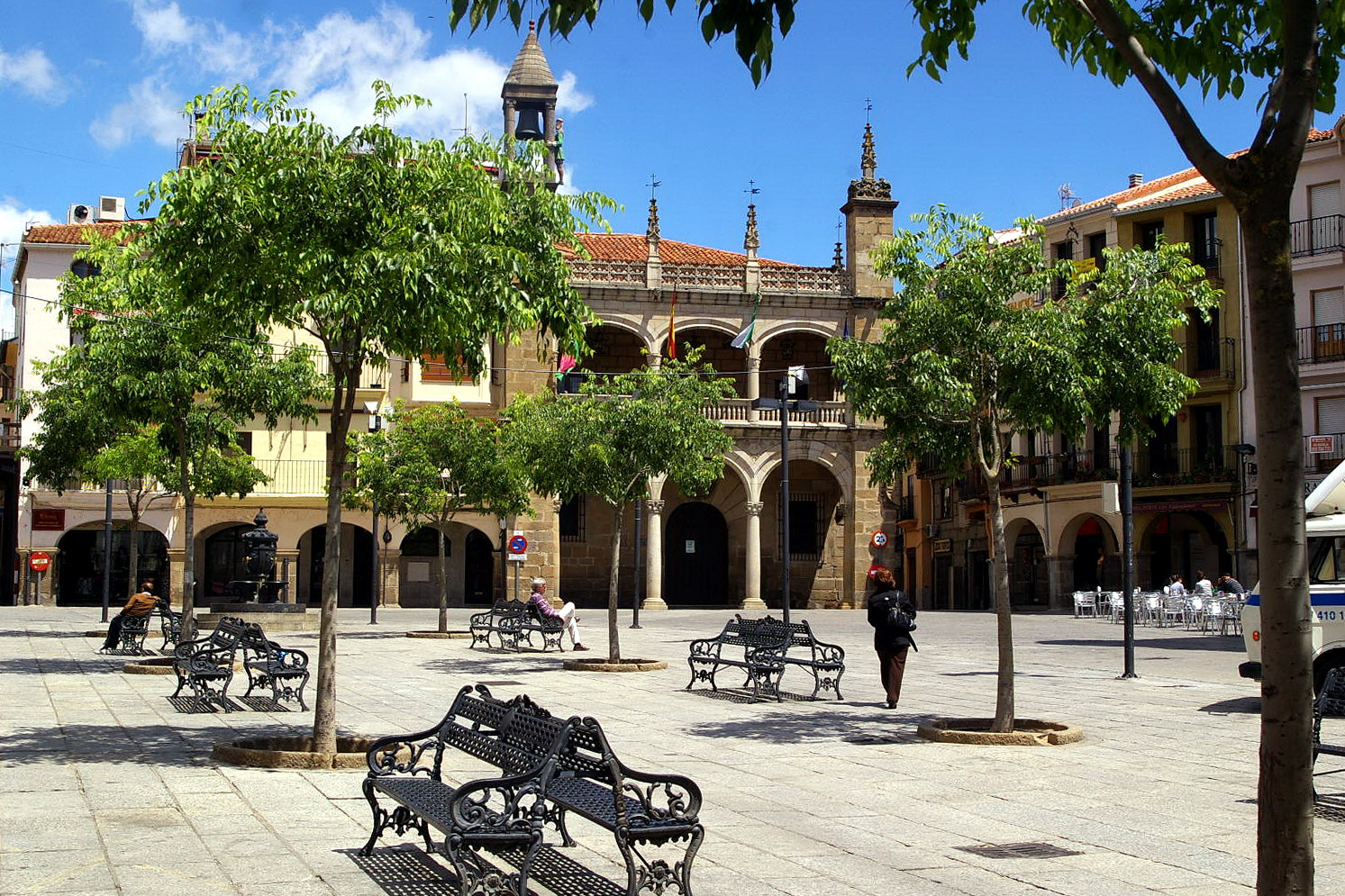 Plaza mayor, Plasencia