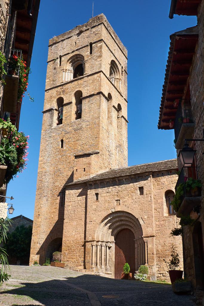 Iglesia de Santa Maria, Aínsa