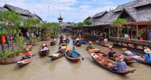 Mercado flotante de Pattaya