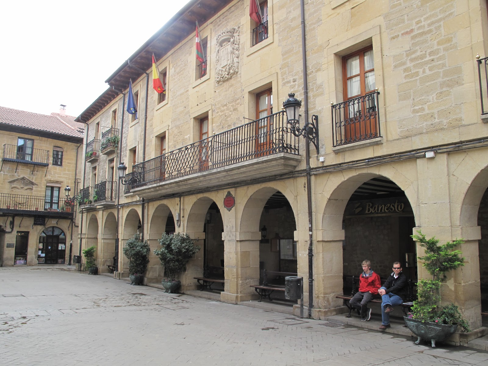 Plaza mayor, Laguardia