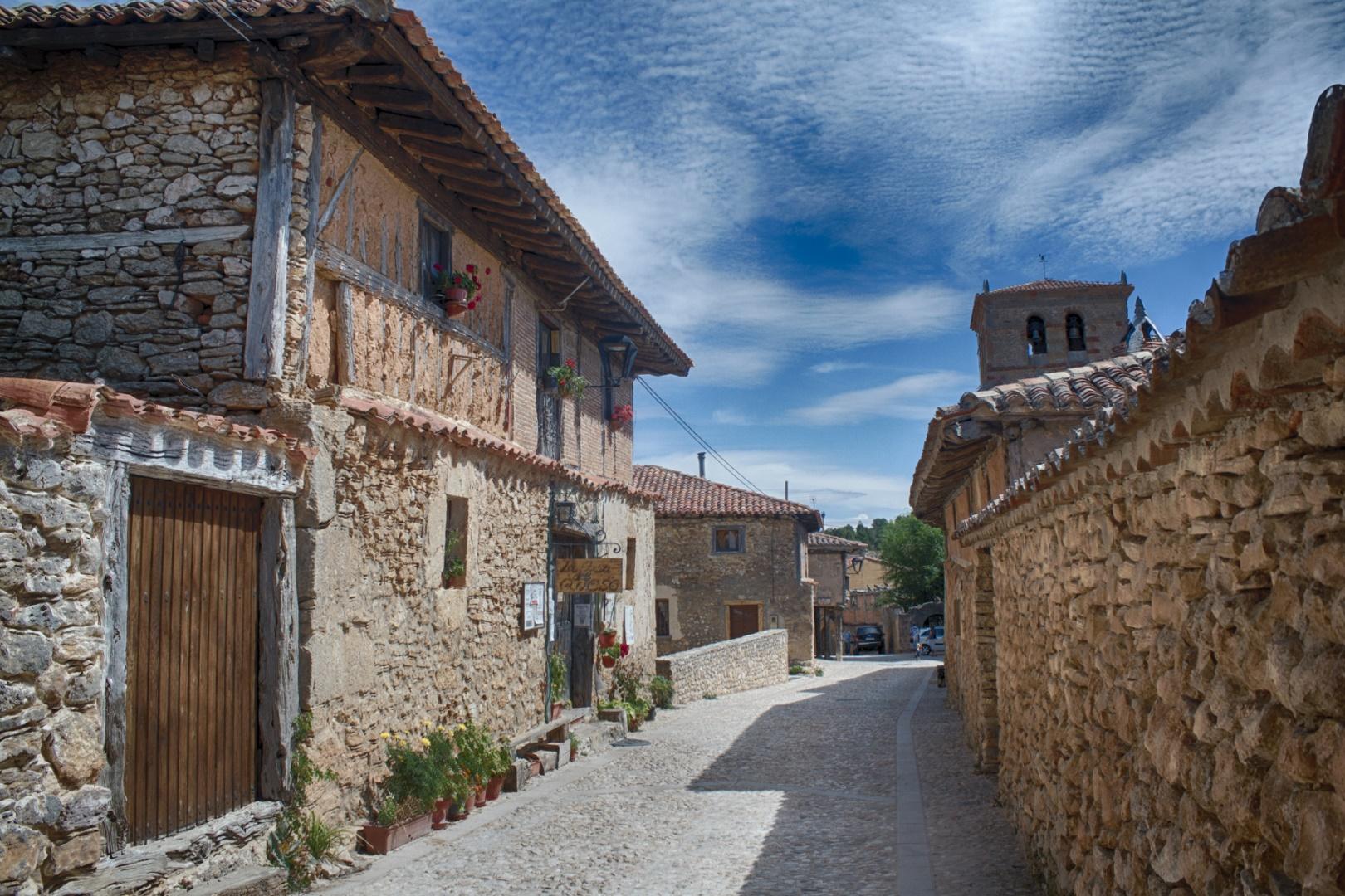 Una calle en Calatañazor