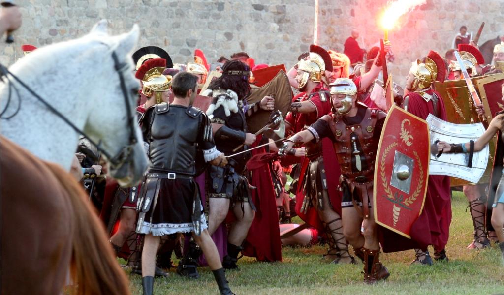 Fiesta de Carthagineses y Romanos