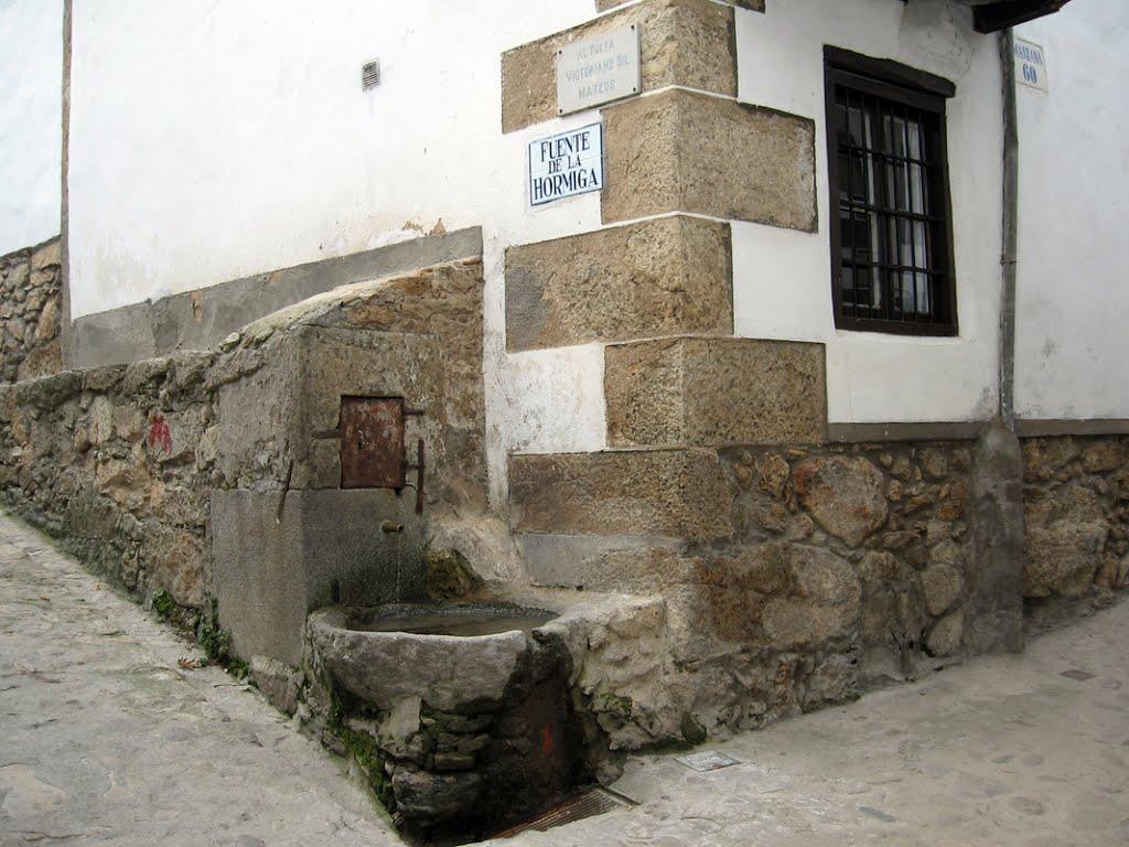 Fuente de la hormiga, Candelario