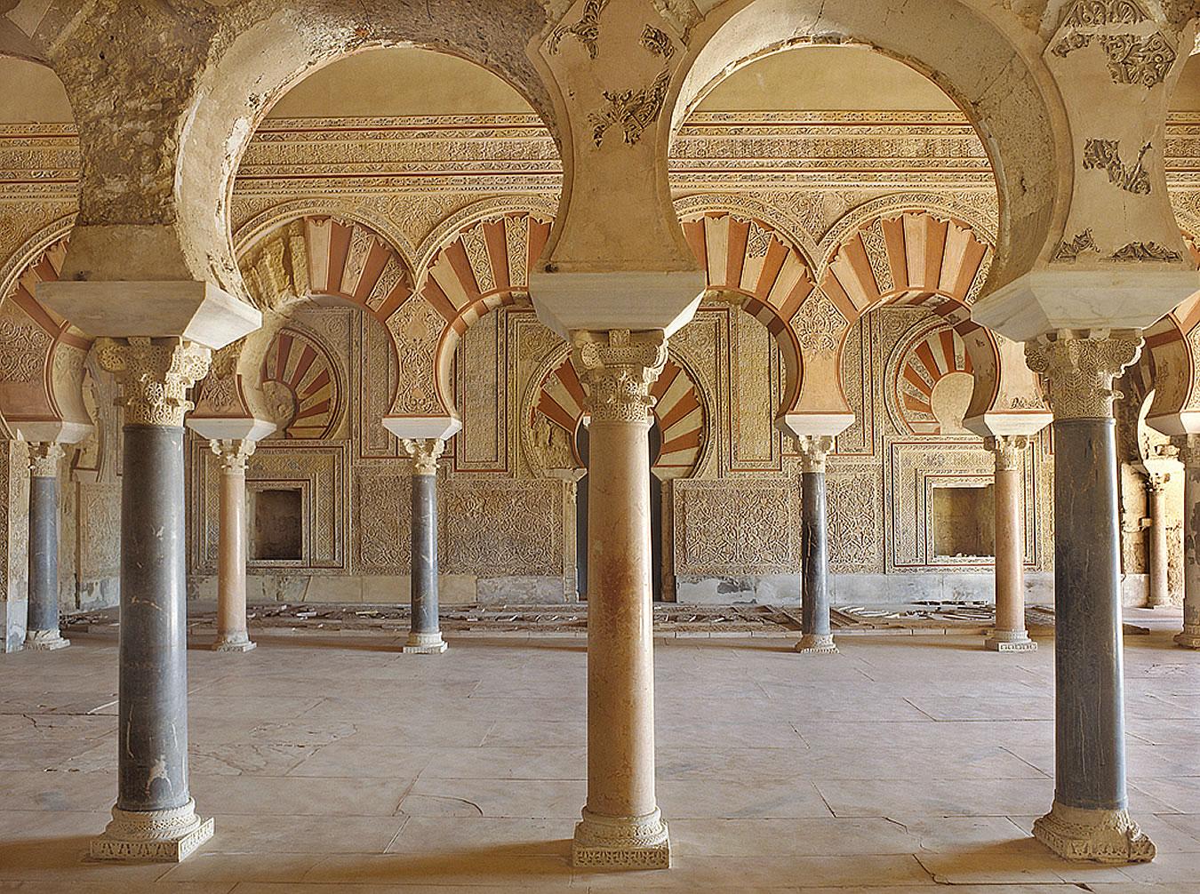 Interiores de Medina Azahara