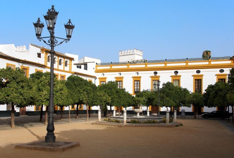 Patio de Banderas, Sevilla
