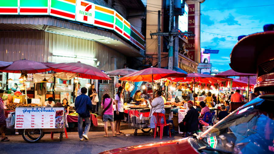 night market chiang mai
