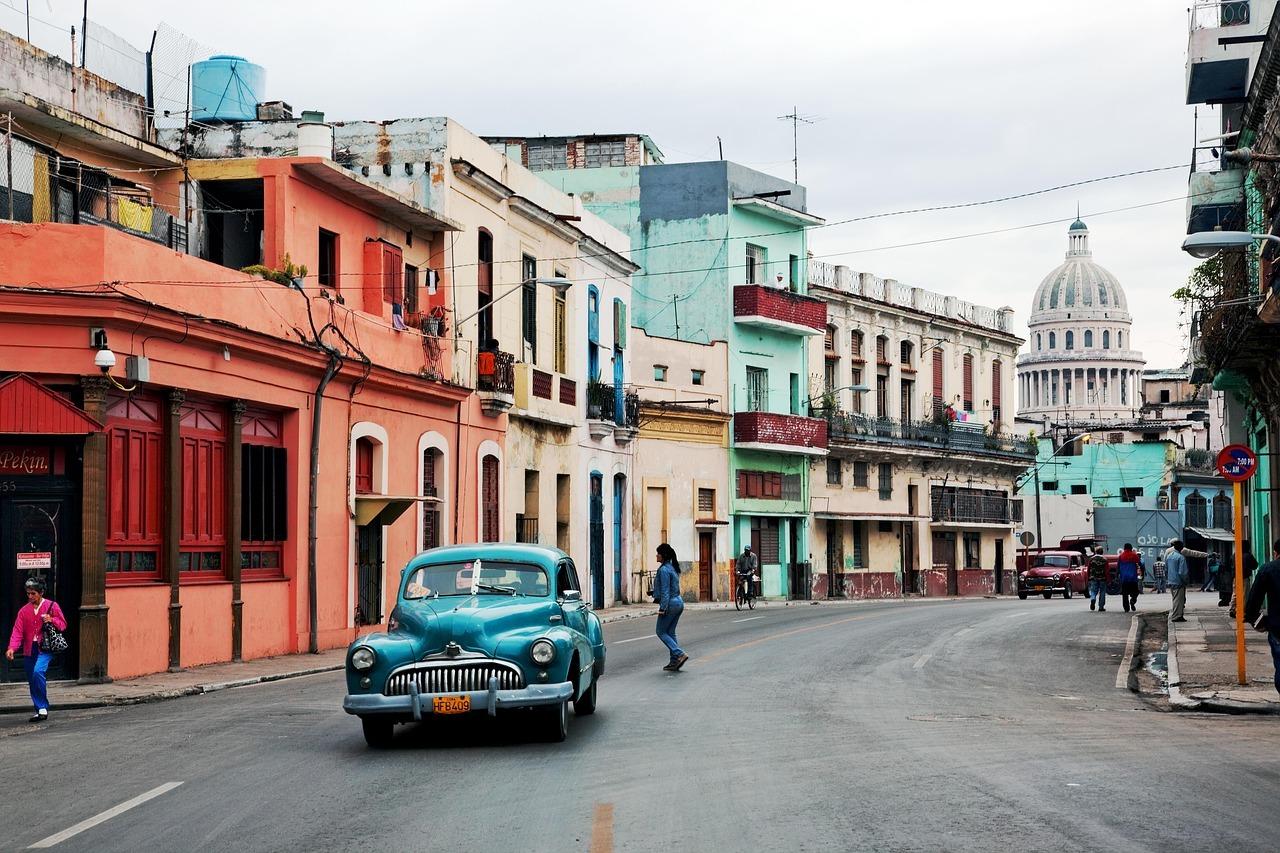 Un coche en la Habana